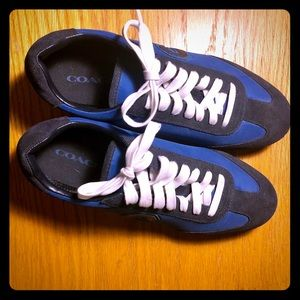COACH athletic shoes